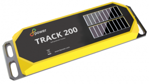 A picture of the new 8power Track 200 self-powering sensor launched in November 2017