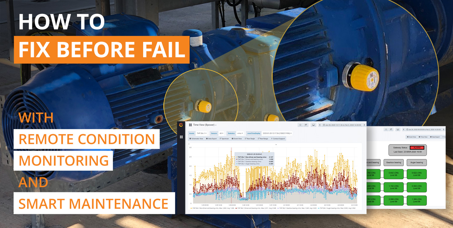 How to Fix Before Fail with Remote Condition Monitoring and Smart Maintenance